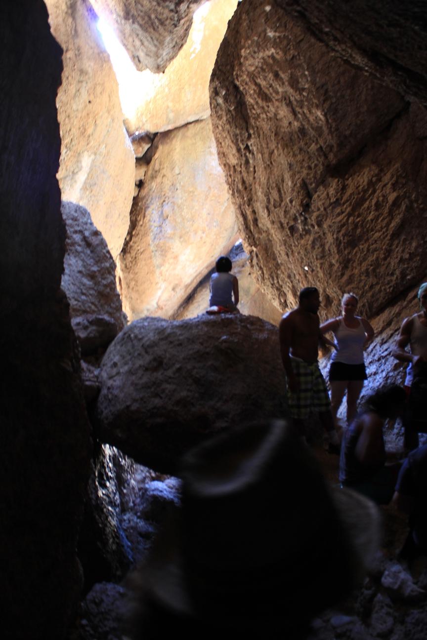 Balconies Cave exit