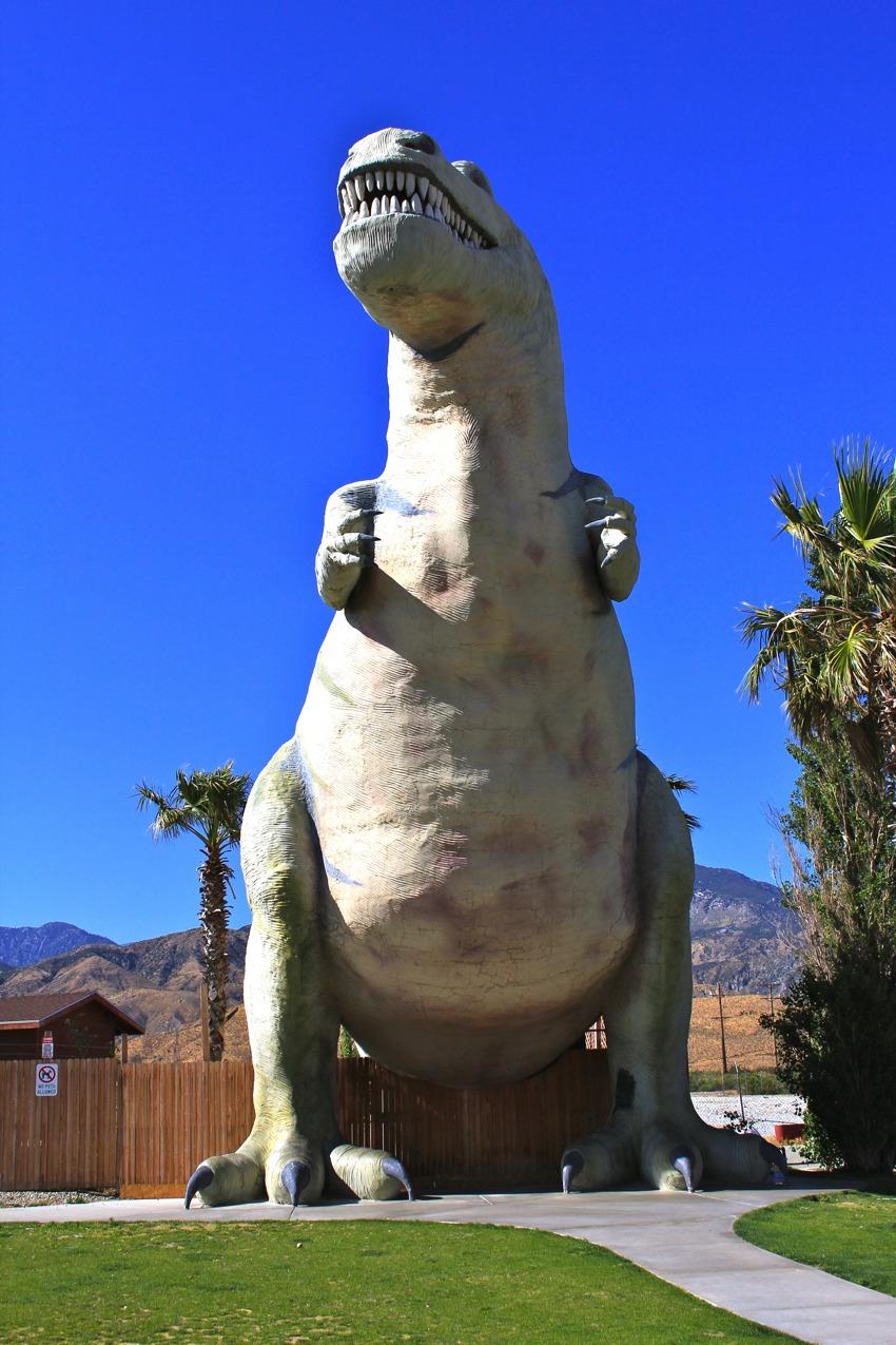 Cabazon Dinosaurs T rex