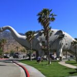 Cabazon Dinosaurs from far 150x150