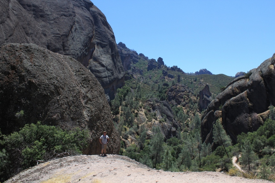 Josh and Pinnacles National Monument