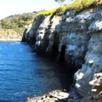 La Jolla caves on the coast