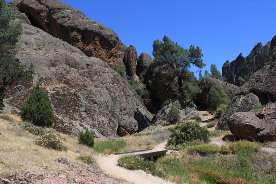 Pinnacles National Park Balconies Cave and High Peaks California