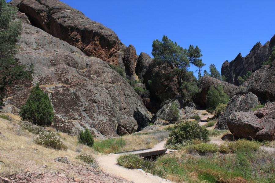 Pinnacles National Monument Balconies Caves Loop 3