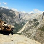 half dome from glacier point 2