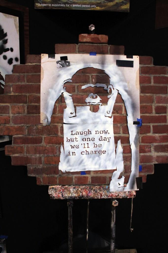 Banksy Monkey 682x1024