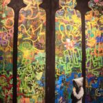 Banksy Praying Church Mural 150x150