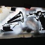 Banksy Stencil 150x150