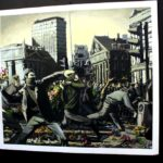 Banksy throwing flowers 150x150