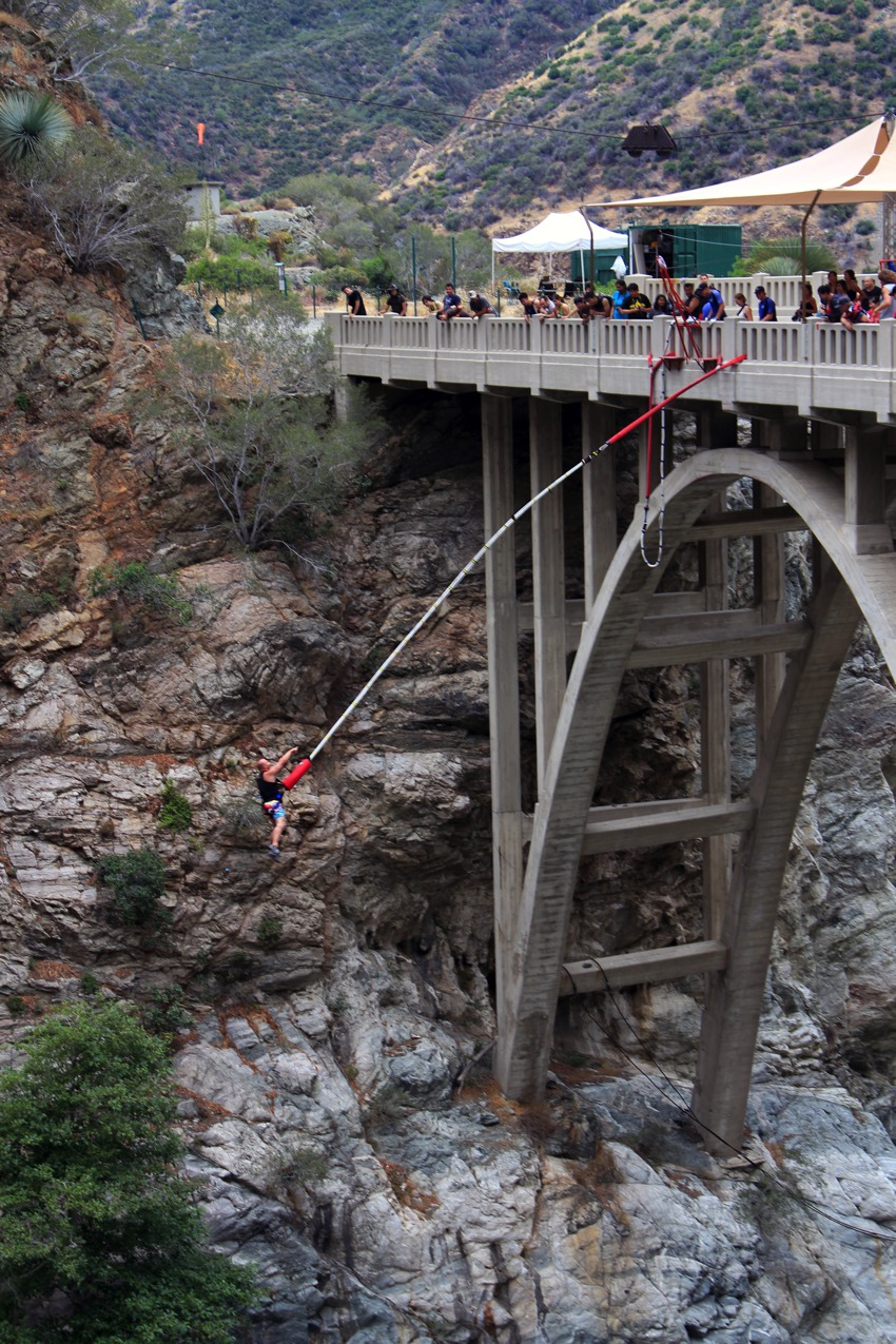 Bungie Jumping off the Bridge to nowhere 2
