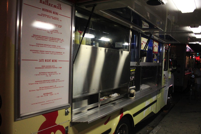 Food Trucks Of La Featuring The Lobsta Truck Buttermilk Truck And