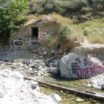 Graffitti on sapphire falls trail