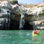 Kayaking in la jolla sea caves