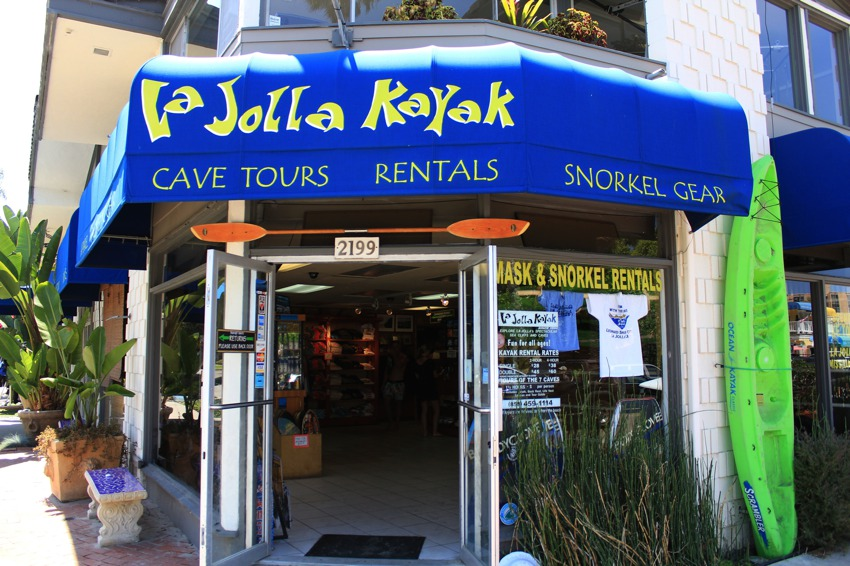 La Jolla Kayak storefront