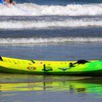 La jolla kayak on beach