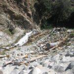 Man made waterfall near sapphire falls