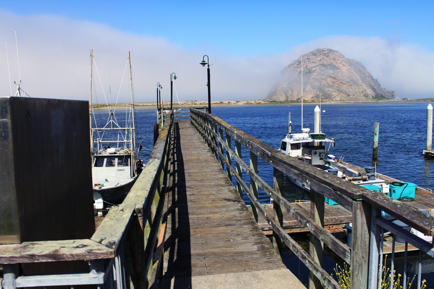 Morro Rock from the Pier