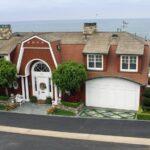 Rich houses in corona del mar