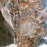 Rock slide by Sapphire Falls