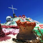 Salvation mountain up close