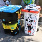 Street Art Xgames trash cans