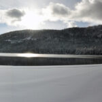 Tahoe snow panorama
