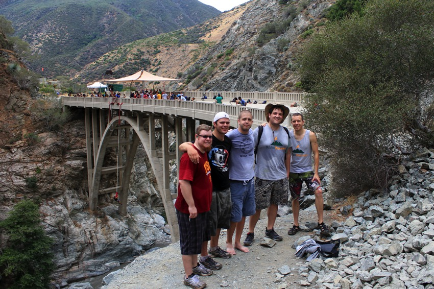 The dudes and the bridge to nowhere