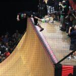 Vert Skateboarding Air X Games
