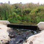 Water runoff in Little corona del mar