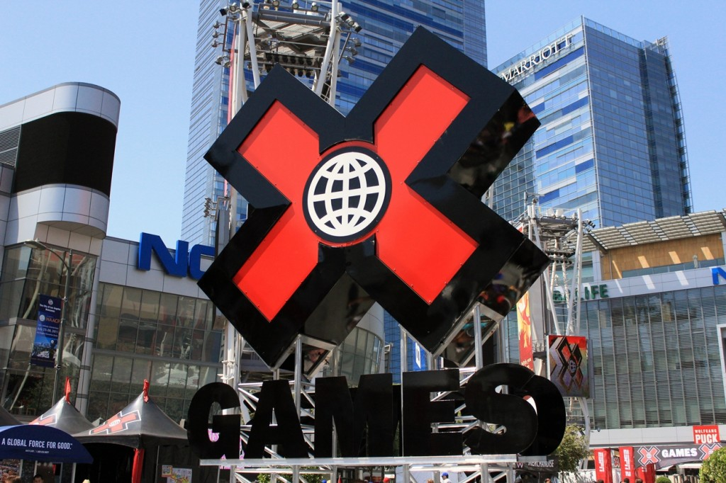 X Games Sign