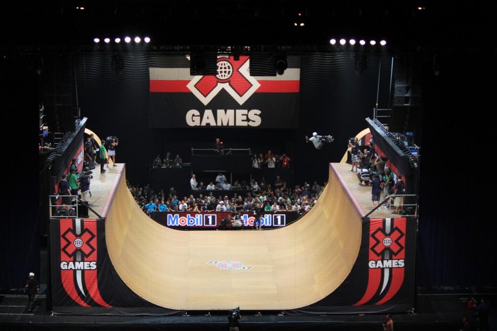 X games Vert ramp