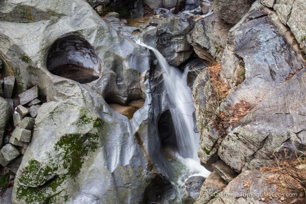 Heart Rock Waterfall Hike (Seely Creek Falls) in Crestline ...