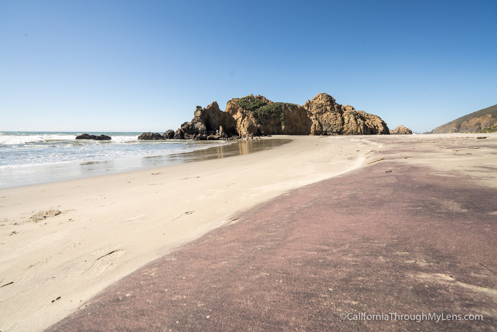 Pfeiffer Beach In Sur Purple Sand Sea Caves Dog Friendly California Through My Lens