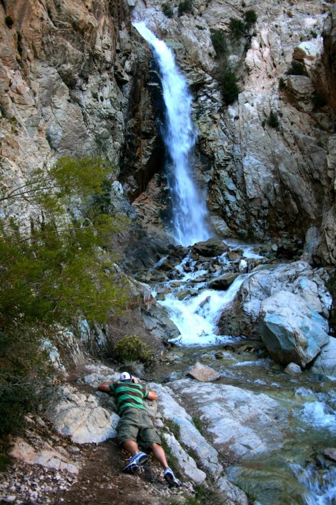 taking photos of big falls