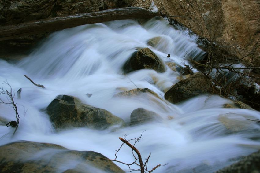 slow motion waterfall big falls