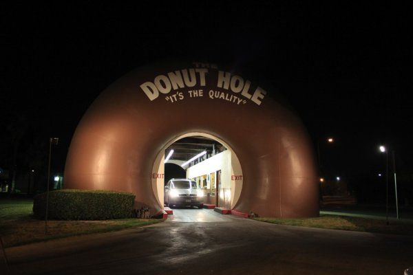 donut hole exit