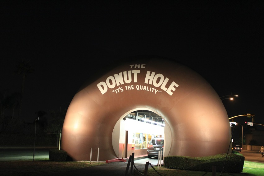 The Donut Hole, La Puente: A Drive Thru Donut