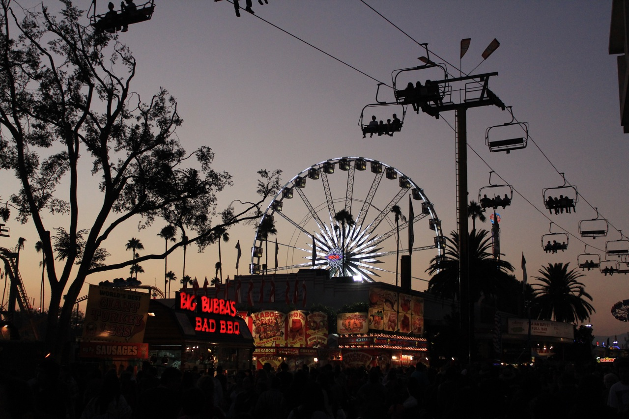 LA County Fair in Pomona, CA