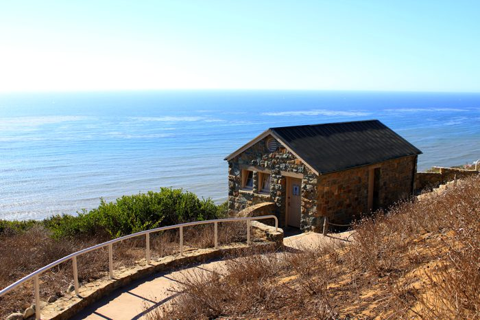 Of The Best Small Bathrooms  While  Cabrillo National Monument Point Loma  Lighthouse California. Best Bathroom Ever