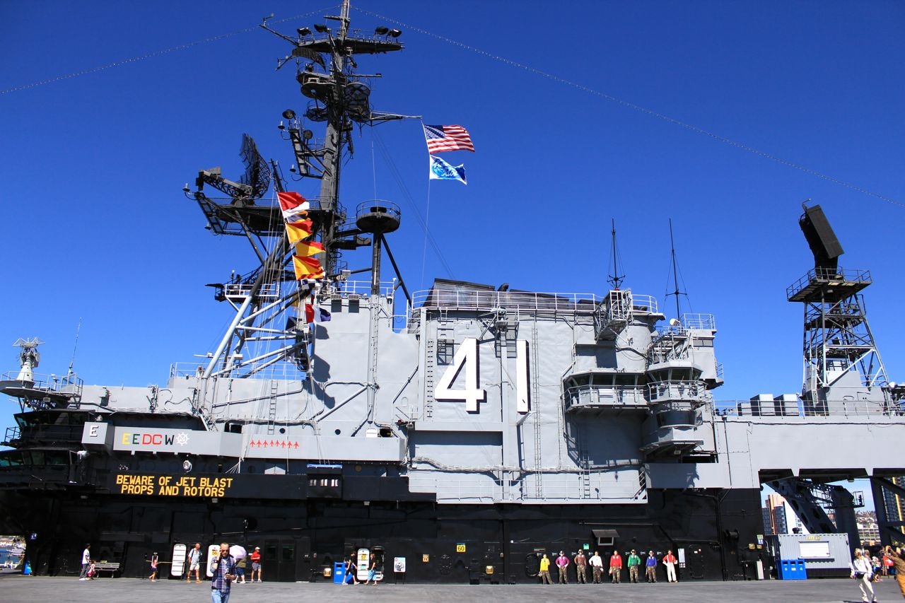 USS Midway Aircraft Carrier Museum in San Diego ...