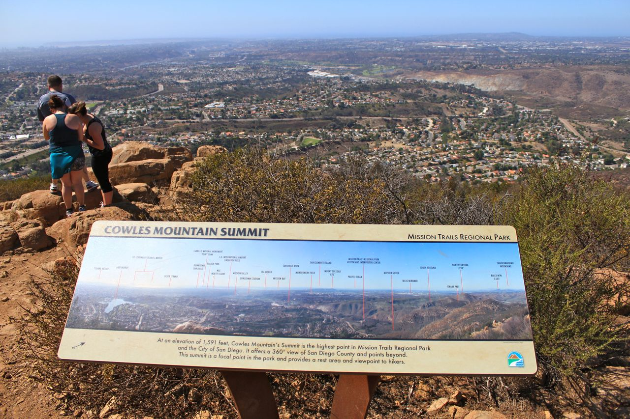 Hiking Cowles Mountain: Tallest Mountain in San Diego City ...