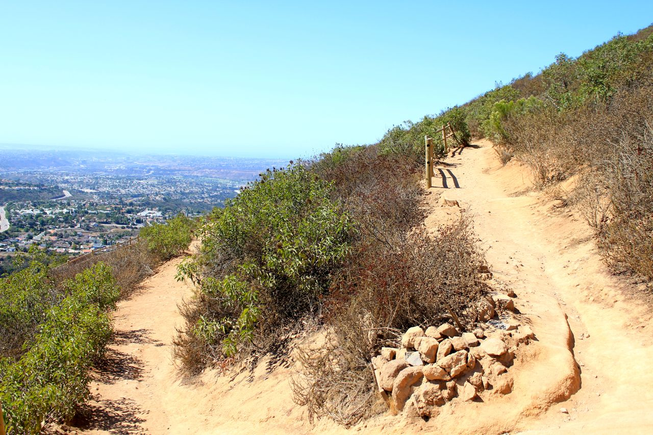 Hiking Cowles Mountain: Tallest Mountain in San Diego City
