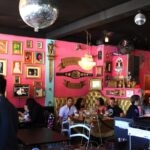 Luche Libre Taco shop eating area