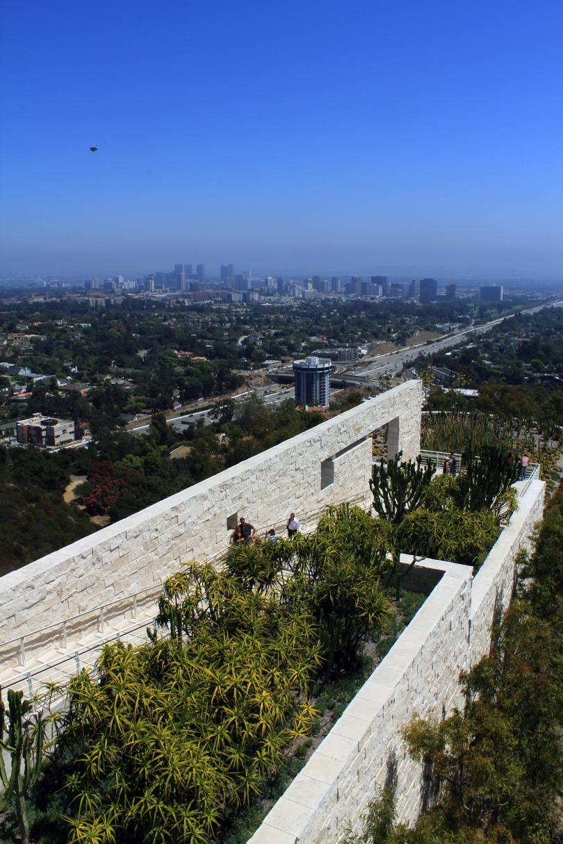 The Getty Museum In Lo...