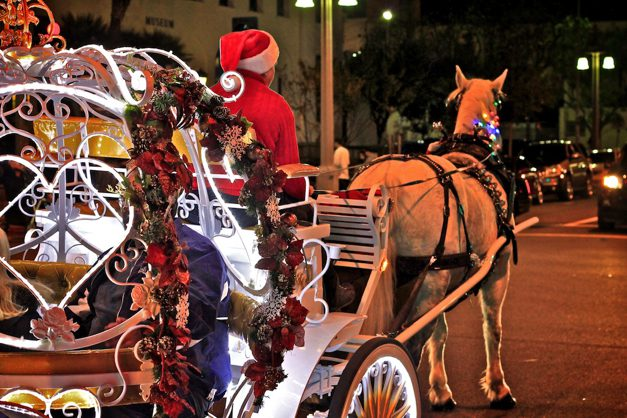 Carrage rides at the festival of lights