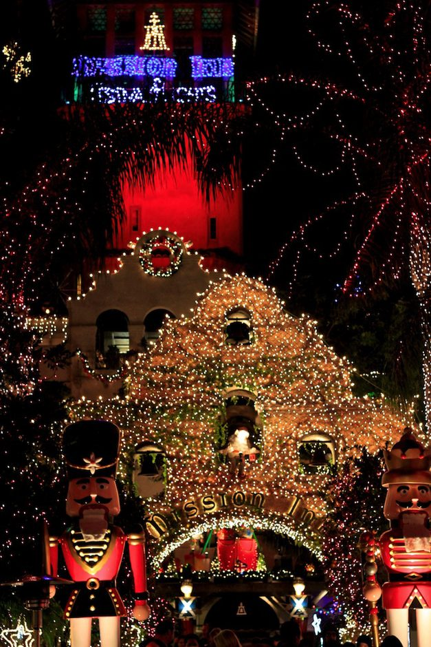 Entrance to Mission Inn Festival of Lights