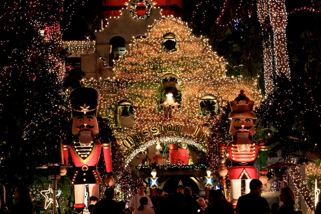Mission Inn Festival of Lights in Riverside, CA