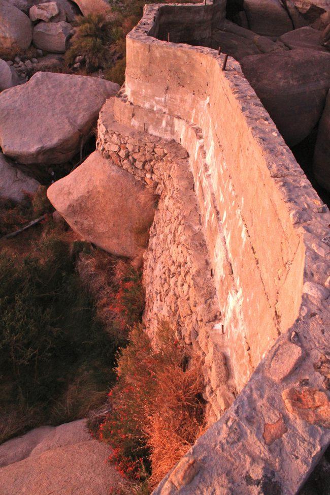Old barker dam