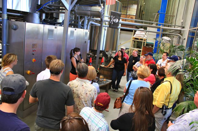 Stone brewing co brewery tour escondido ca california for Stone brewery escondido