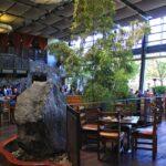 Stone brewery inside