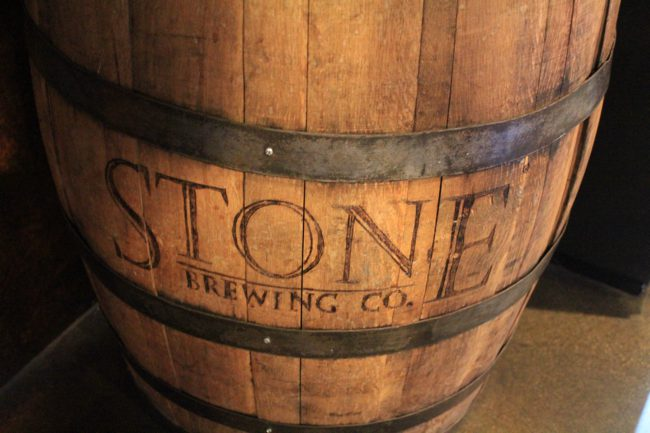 Stone Brewing Co. Brewery Tour: Escondido, CA